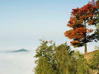 Podzim u Zlatého vrchu