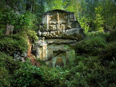 Skalní oltář Nejsvětější Trojice u Mařenic