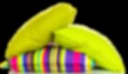 цветный подушки дивана