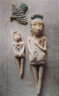 l'oiseau messager des coeurs 45cm (2).jp