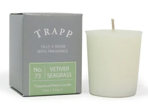 Trapp Candle Vetiver Seagrass