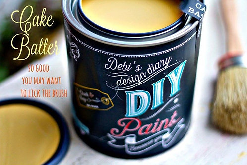 Cake Batter DIY Paint 8 oz