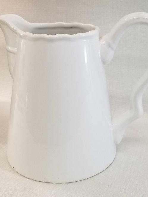 White Creamic Vase / Pitcher