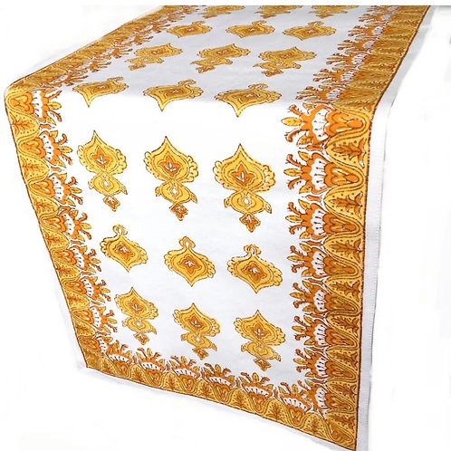Pacific & Rose Table Runner Olivia Marigold
