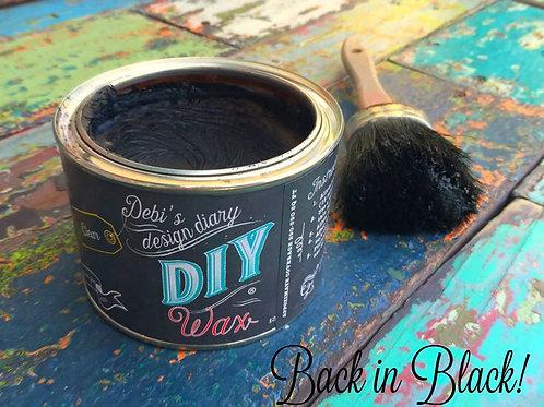 Black Wax DIY Finish 4 oz
