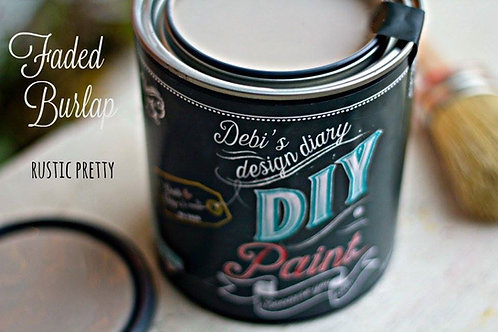 Faded Burlap DIY Paint 32 oz