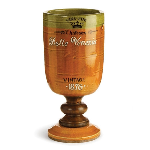 """Parisienne Chateau Footed Chalice 13.5"""""""