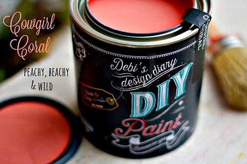 Cowgirl Coral DIY Paint 16 oz