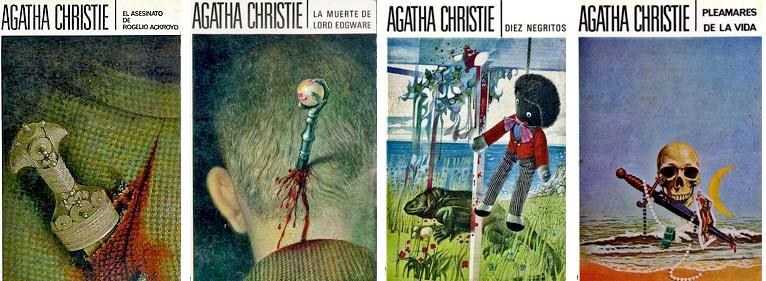 Portadas de libros de Agatha Christie