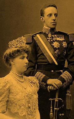Alfonso XIII y Victoria Eugenia