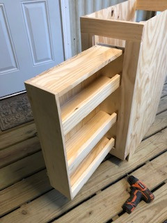 Handmade cabinets