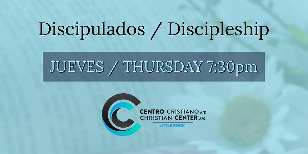 Inscripciones para Discipulados / Inscription Discipleship
