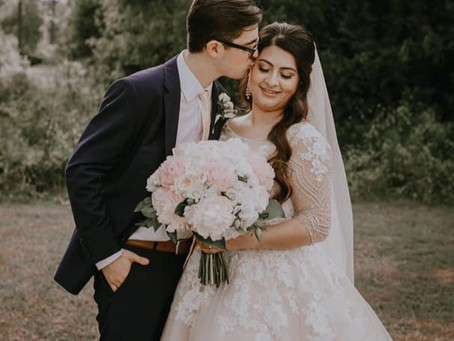 We adjusted the clothes of these newlyweds for their wedding!