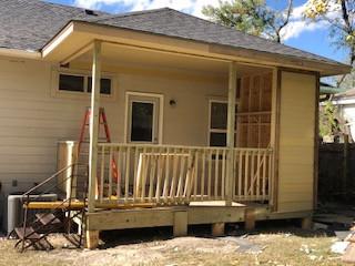 Porch Consrtuction