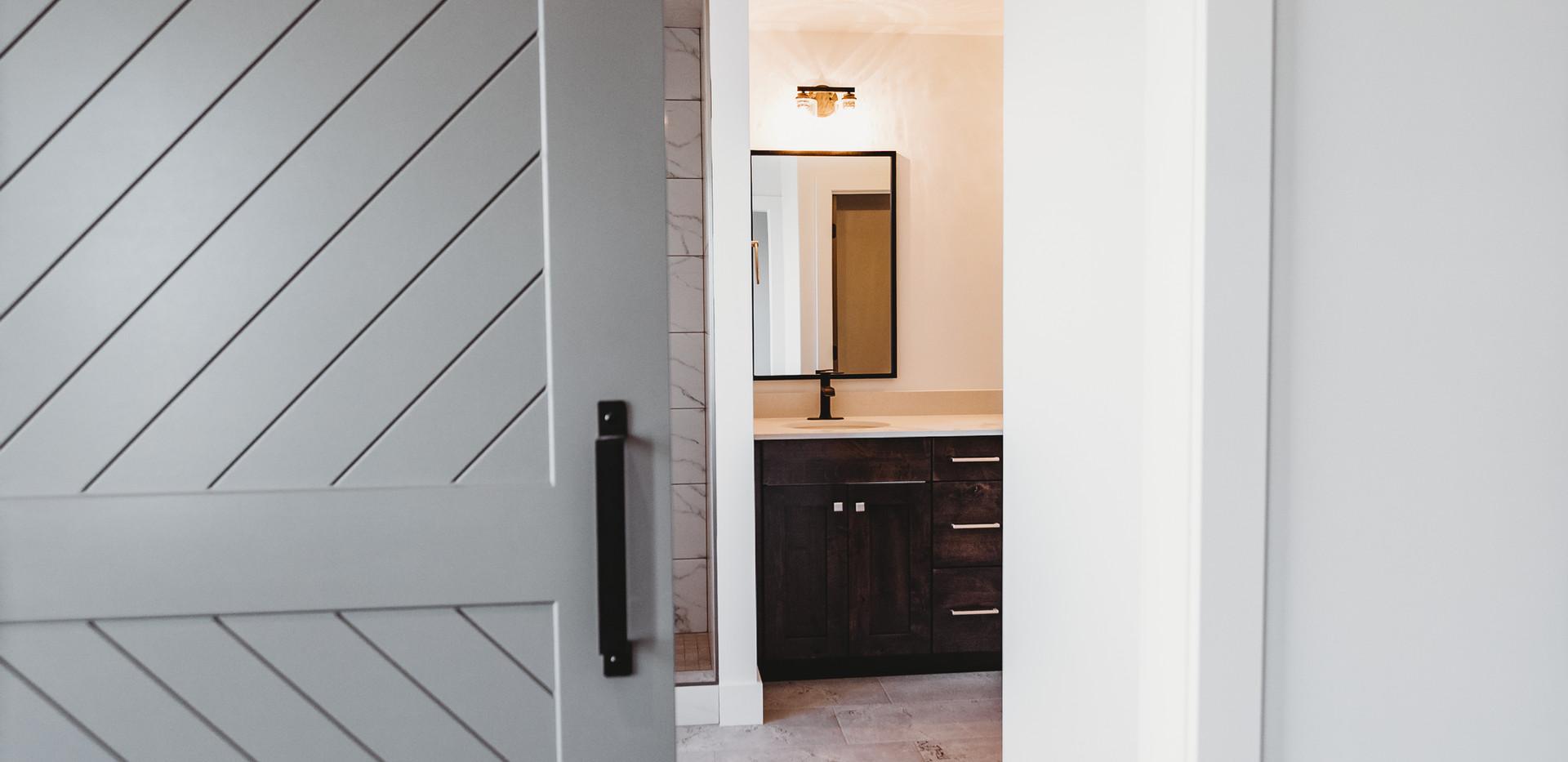 Entry to Master Bath/Closet