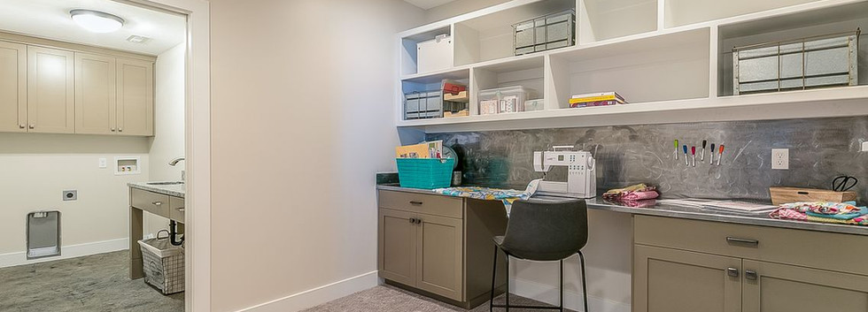 Craft Room/Secondary laundry room