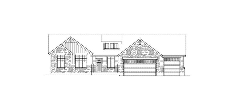 Brookings Front Elevation