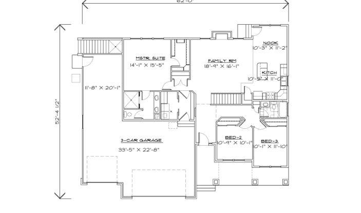 R-1634-13ue Upstairs