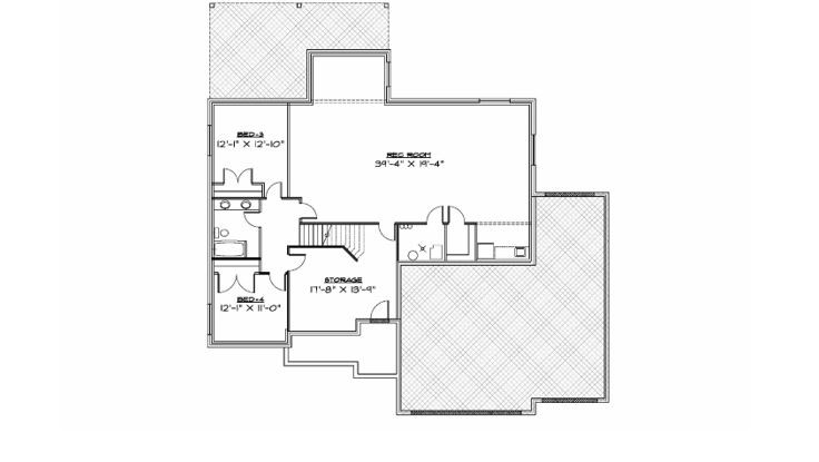 R-1888-14ue Downstairs