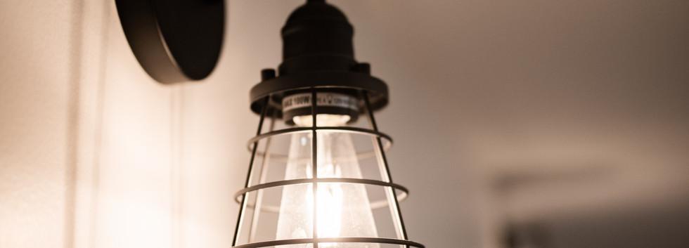 Downstairs light