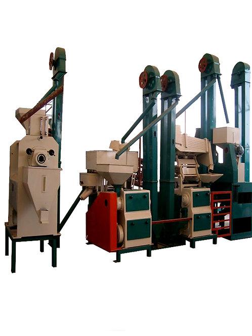 Three Pass Rice Mill