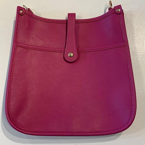 Fuchsia Reg. Size Snap Closure Messenger - Bag Only
