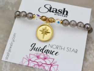 North Star Bracelet - Guidance - Mystic Gray Agate