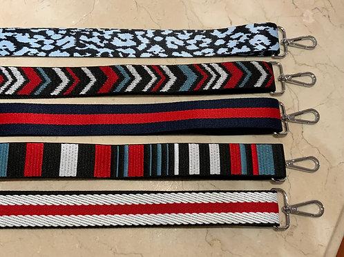 """Patterned 1.5"""" bag straps"""