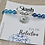 Thumbnail: Evil Eye Bracelet - Protection - Mystic Blue Agate