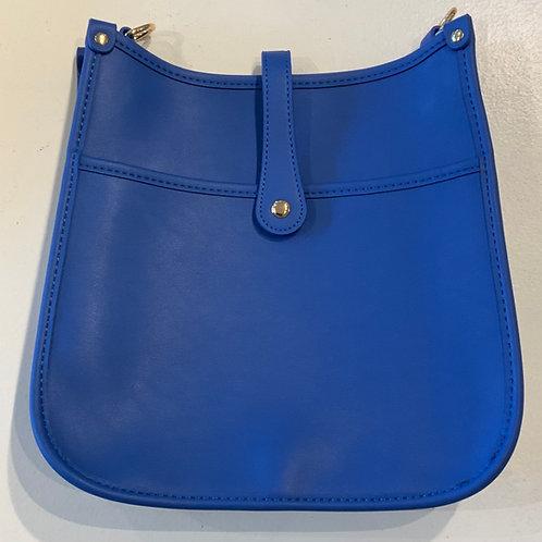 Royal Blue Reg. Size Snap Closure Messenger - Bag Only