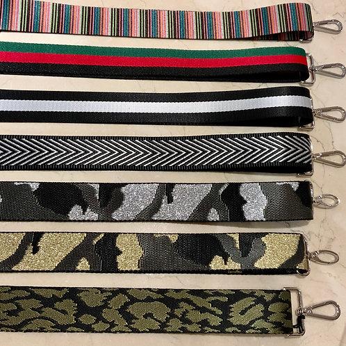 """1.5"""" Bag Straps (Silver)"""