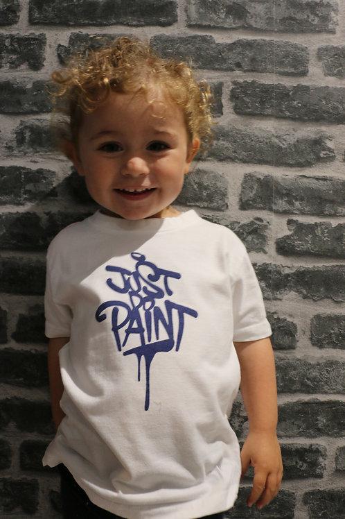 Tshirt enfant blanc et bleu navy