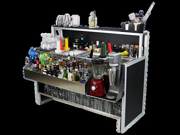 Omega 15 bar cocktail professionale indistruttibile acciaio inox