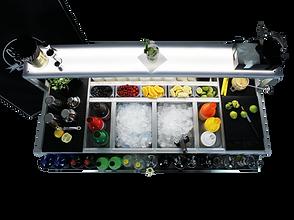 omega 15 station cocktail catering elgante comoda
