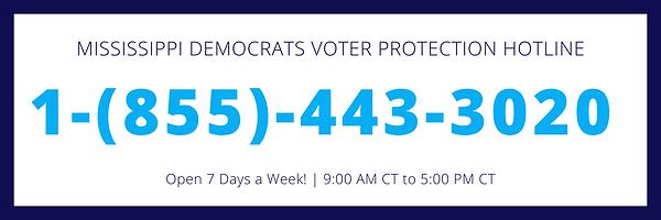 Mississippi Democrats Voter Protection H