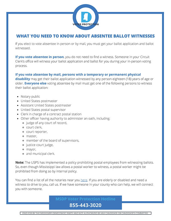 WHAT YOU NEED TO KNOW ABOUT ABSENTEE BAL