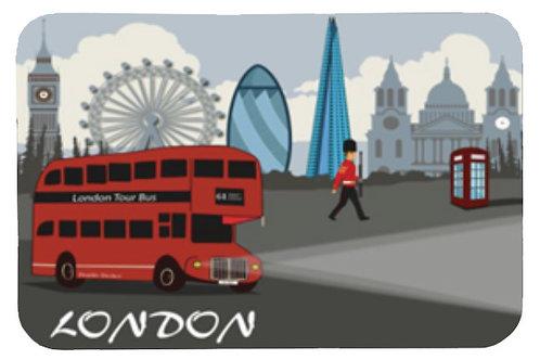 London Tour Bus Lights