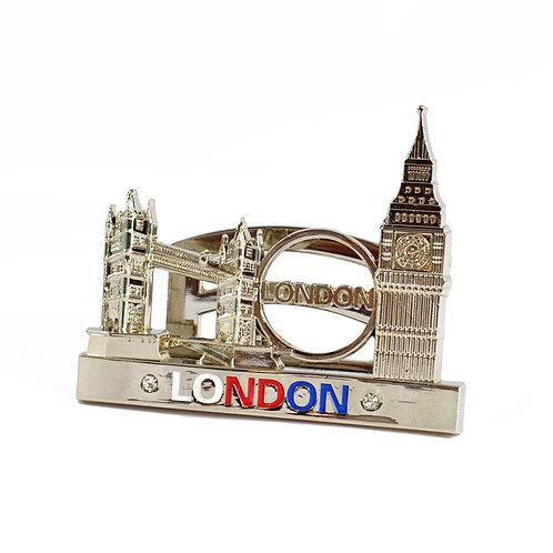 Gold London Bridge & Big Ben