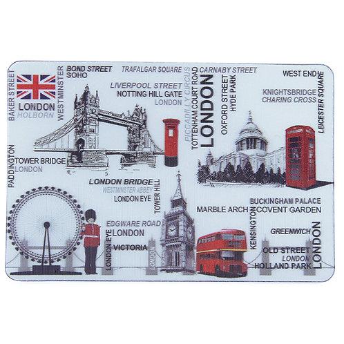 Magnet 3D LONDON FONT