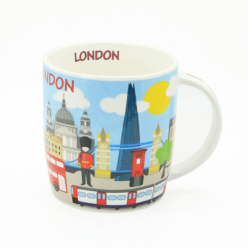 london illustration skyline