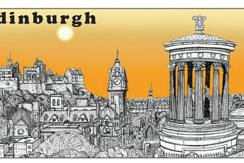 Edinburgh Landmark Sketch