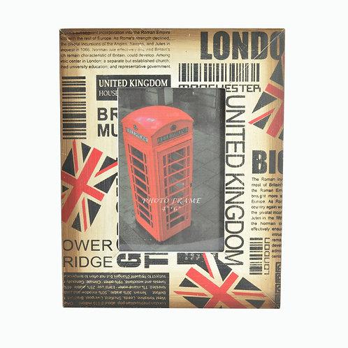 LONDON BARCODE FRAME