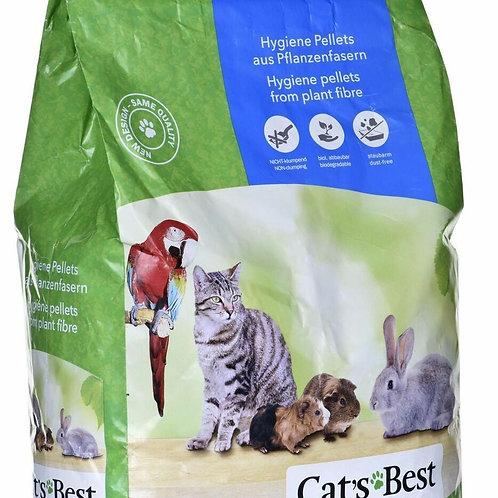 """מצע Cat's Best לארנבונים 20 ליטר (11 ק""""ג)"""