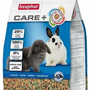 """קייר+ Care+ מזון לארנבונים *בוגרים* 1.5 ק""""ג Beaphar"""