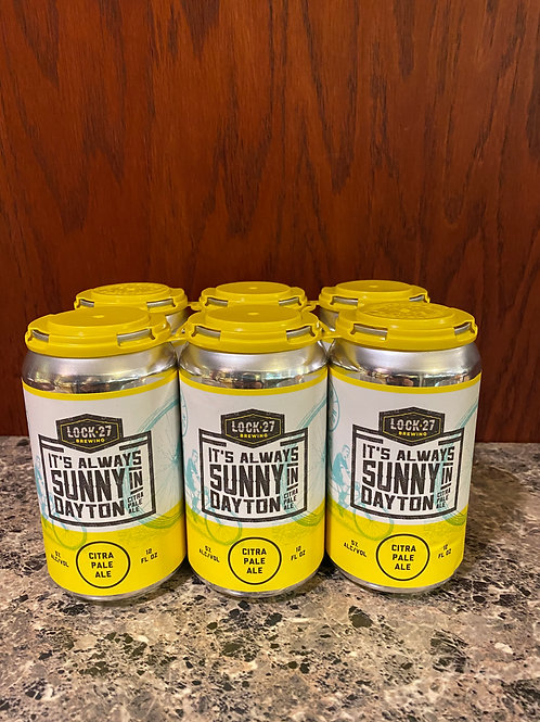 Lock 27 Brewing It's Always Sunny in Dayton Citra Pale Ale
