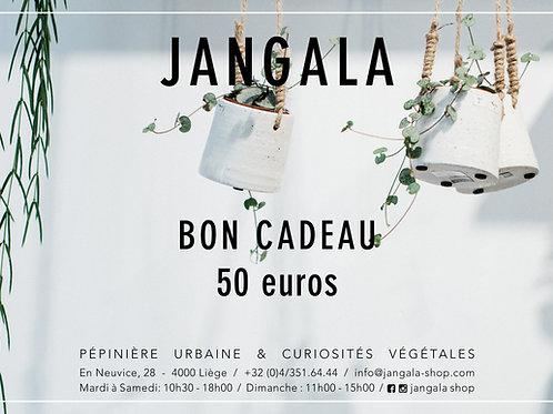 Bon Cadeau - 50 eur