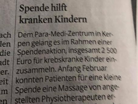 Anzeige im Kölner Stadtanzeiger