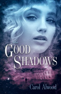 Signed paperback of The Good Shadows