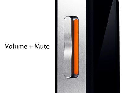 Volume/Mute Button
