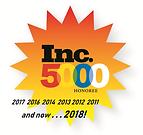 Inc5000 starburst award FB Slide rev 10-
